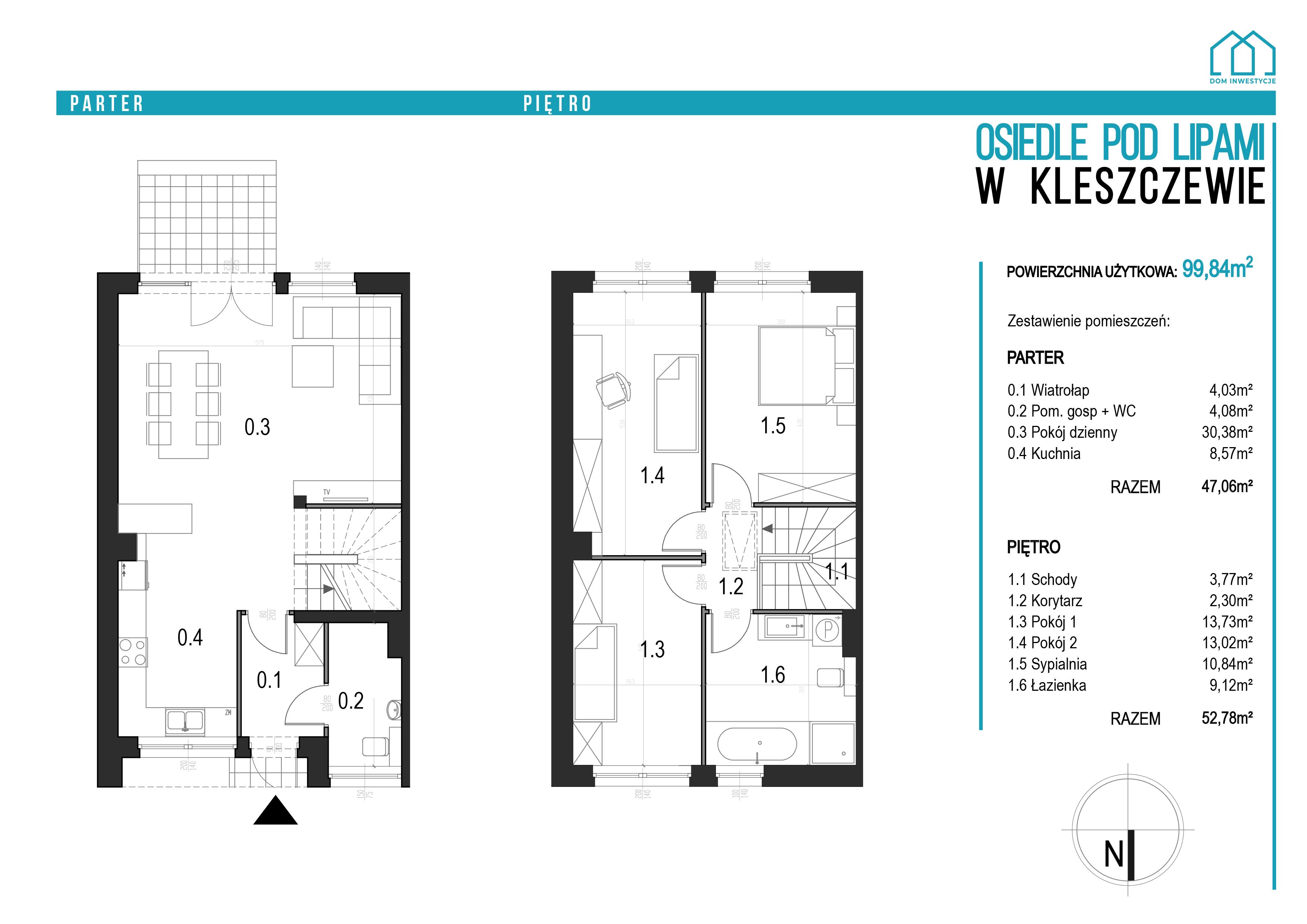 Osiedle wKleszczewie - karta lokalu